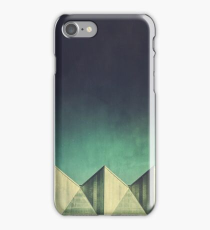 Urban Geometric Landscape Skyline iPhone Case/Skin