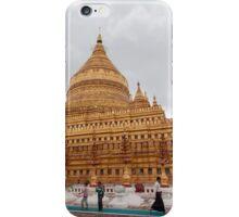 Shwezigon Pagoda, Bagan, Myanmar iPhone Case/Skin