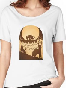 Full Moon in the Forbidden Forest Women's Relaxed Fit T-Shirt