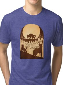 Full Moon in the Forbidden Forest Tri-blend T-Shirt