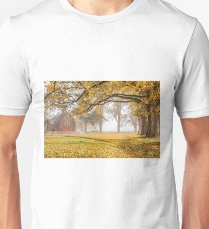 Gostwyck Chapel in the Fall - Uralla NSW Australia Unisex T-Shirt