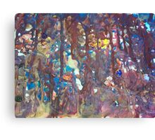 Stained Glass Window Canvas Print