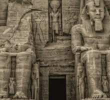 Great Temple Abu Simbel Sticker