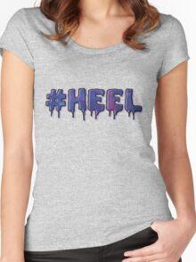 HEEL - Pastel D (Galaxy) Women's Fitted Scoop T-Shirt