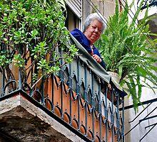 Do you like my balcony......? by Adri  Padmos