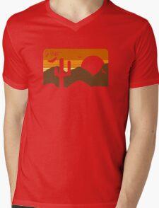Go West Mens V-Neck T-Shirt