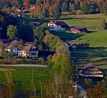 Beautiful autumn scenery | landscape photography Sticker