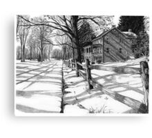 The Stonemason's House - Bucks County, PA Canvas Print