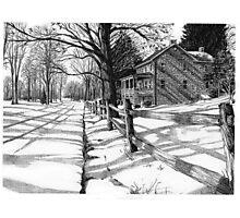 The Stonemason's House - Bucks County, PA Photographic Print