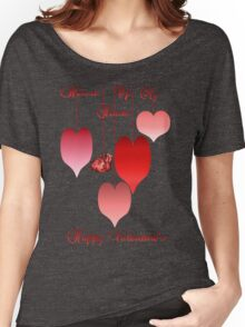 Heart of My Hearts lettered Women's Relaxed Fit T-Shirt