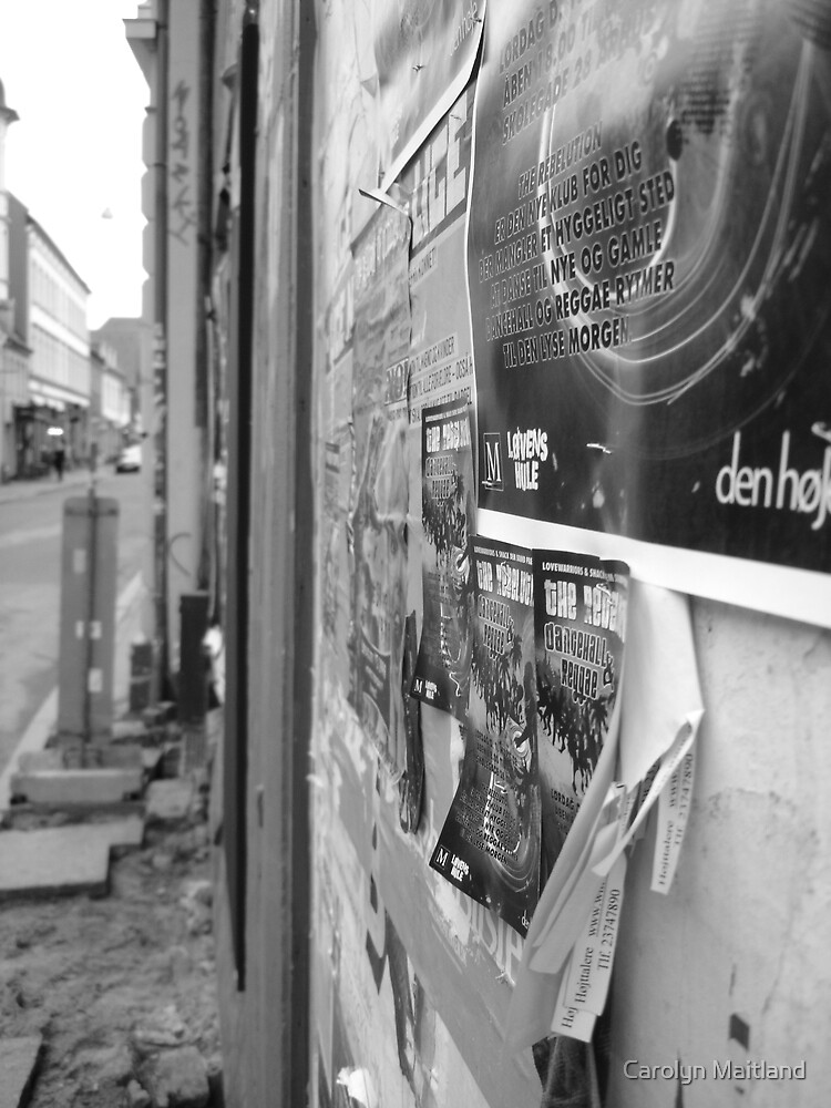 The Art of Advertising - Aarhus by Carolyn Maitland