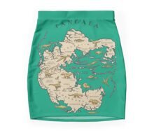 map of the supercontinent Pangaea Pencil Skirt