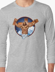 Come-at-me-bro-jesus Long Sleeve T-Shirt