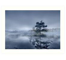 Morning Mist - Tarn Hows Art Print