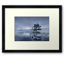 Morning Mist - Tarn Hows Framed Print