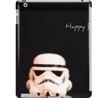 Trooper birthday card iPad Case/Skin
