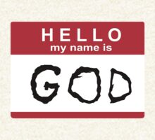Hello my name is God T-Shirt
