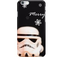 Trooper Christmas card iPhone Case/Skin