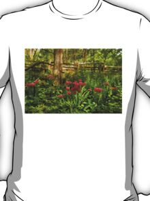 Untamed Tulip Forest - Impressions Of Spring T-Shirt