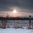 Field and Fence by Jeff Notti