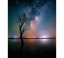 Galactic Flame... Photographic Print