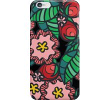 Wild rose flower and blossom iPhone Case/Skin