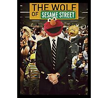 The Wolf Of Wall street-Parody Poster Photographic Print