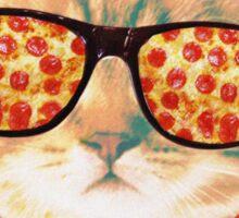 Kitty Pizza Sticker