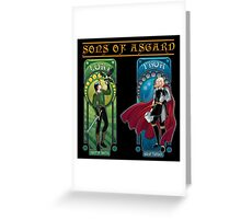 Sons of Asgard Greeting Card