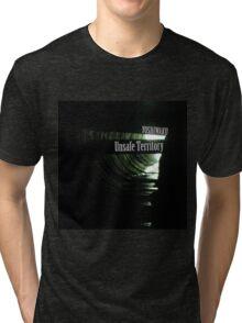 Unsafe Territory by Yoshiwaku Tri-blend T-Shirt