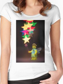Lego Fairy Women's Fitted Scoop T-Shirt