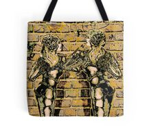 Graffiti Hearts [Digital Figure Illustration] Colour-Mash Version 1 Tote Bag