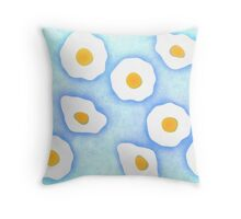 Egg pattern Throw Pillow