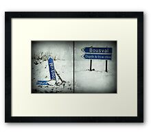 Winter diptych... Framed Print