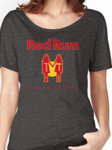 REDRUM gives you the creeps! (red) Women's Relaxed Fit T-Shirt