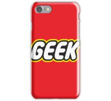 Brick Geek iPhone Case/Skin