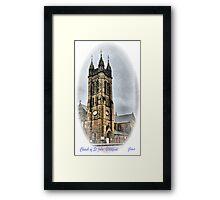 Church of St John. Framed Print