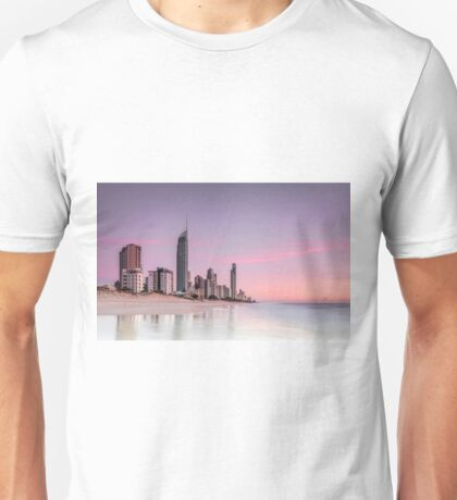 Sunrise in Paradise - Gold Coast Qld Australia Unisex T-Shirt