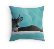 Blueberry Fields Forever Throw Pillow