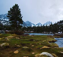 Incoming Storm, Heart Lake by Justin Mair