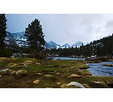 Incoming Storm, Heart Lake Photographic Print