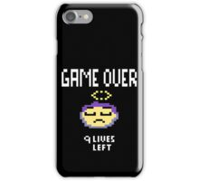 Game Over Got Pixelated iPhone Case/Skin