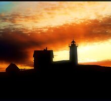 Nubble Lighthouse by George's Photography