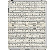 musical iPad Case/Skin