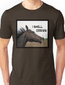 I Smell Cookies! - Hungry Horse Unisex T-Shirt