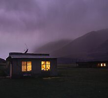 Hermit of the Tien Shan (Mountain of the sky) by Leo Shum