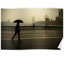 Gloom on Westminster Bridge Poster
