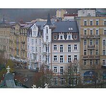Czech city scene Photographic Print