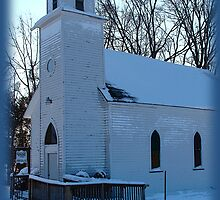Little Country Church by vigor