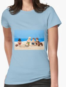 Vader's Sandcastle  Womens Fitted T-Shirt
